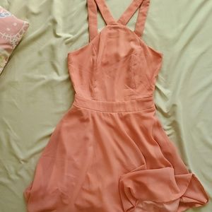 Charlotte Russe Peachy Dress